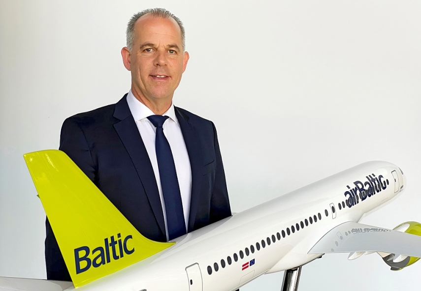 Letter from the President and CEO of airBaltic, Martin Gauss
