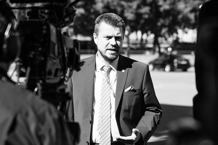 "Estonia's Foreign Affairs Minister Urmas Reinsalu: ""The glass is always half full"""