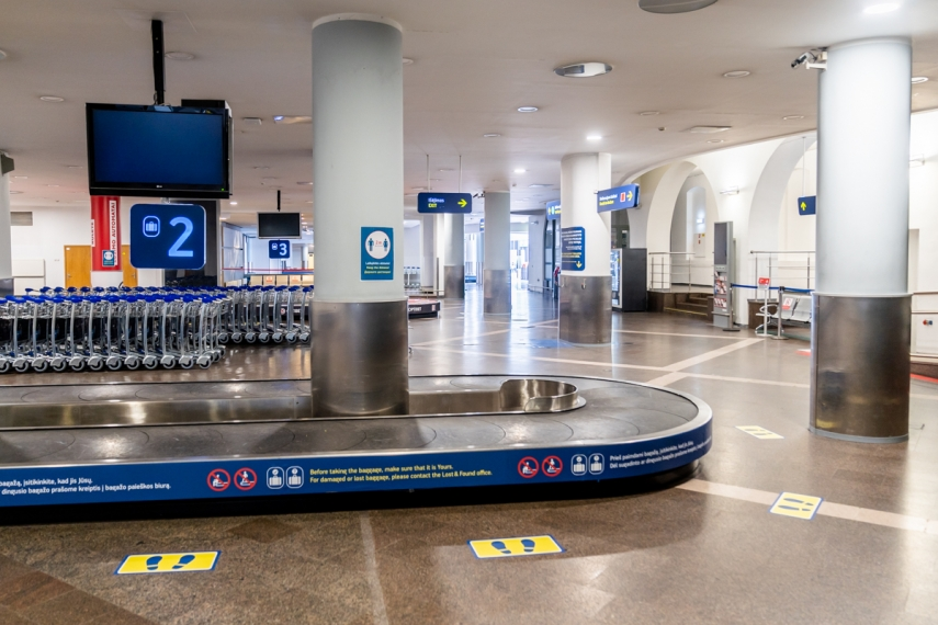 Vilnius Airport implements necessary safety measures and is ready to resume passenger flights