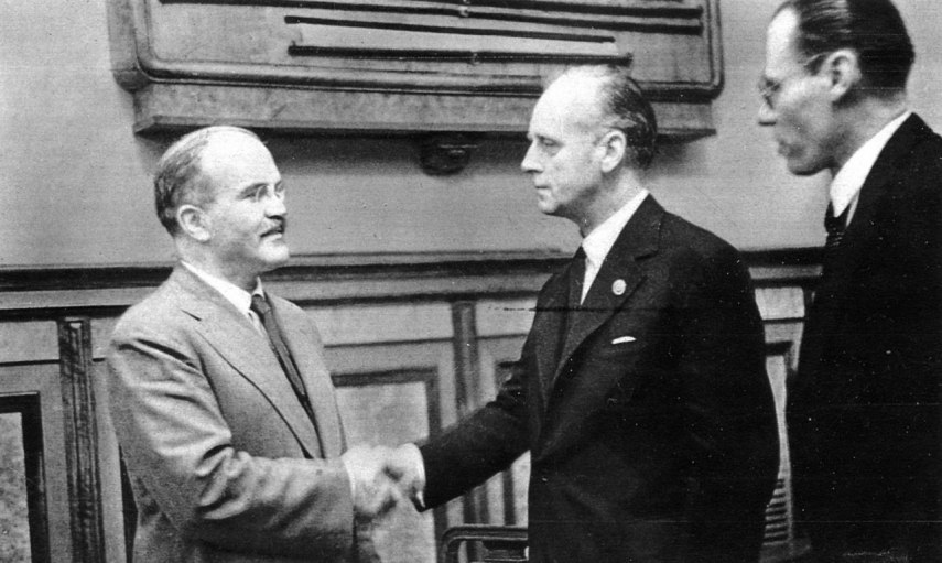 Baltic states denounce Russia's attempts to rehabilitate Molotov-Ribbentrop Pact