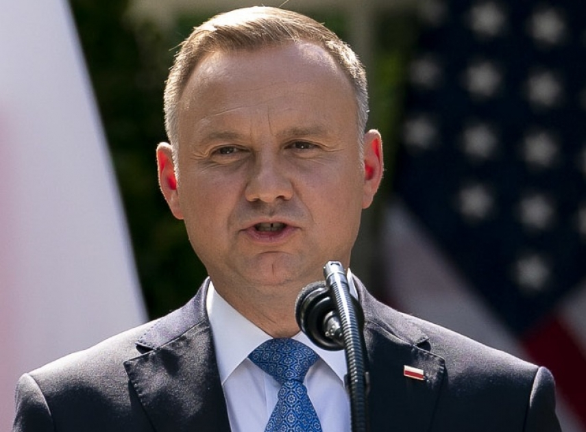 Polish president to give state award to Lithuanian PM