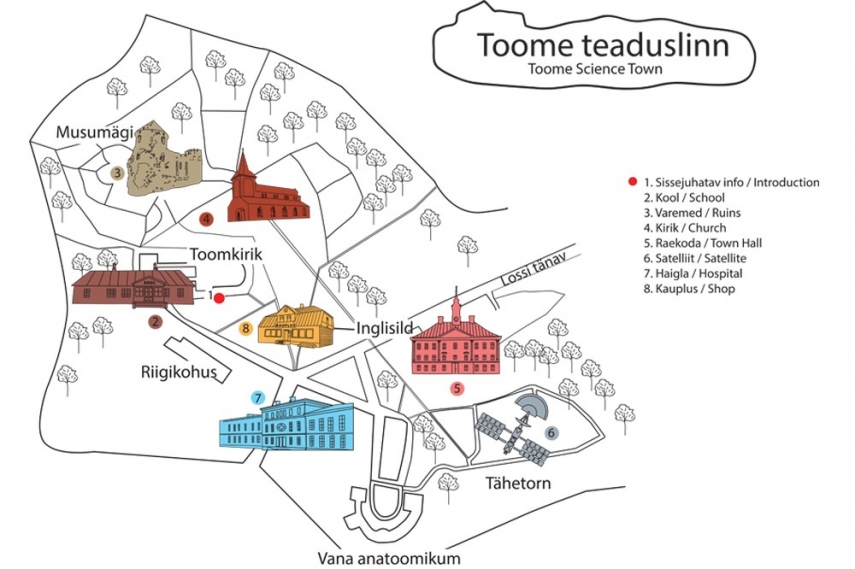 The University of Tartu Museum is opening a science-themed adventure town on Toome Hill
