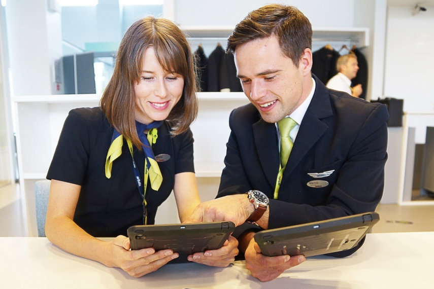 airBaltic employee engagement rate up 10%