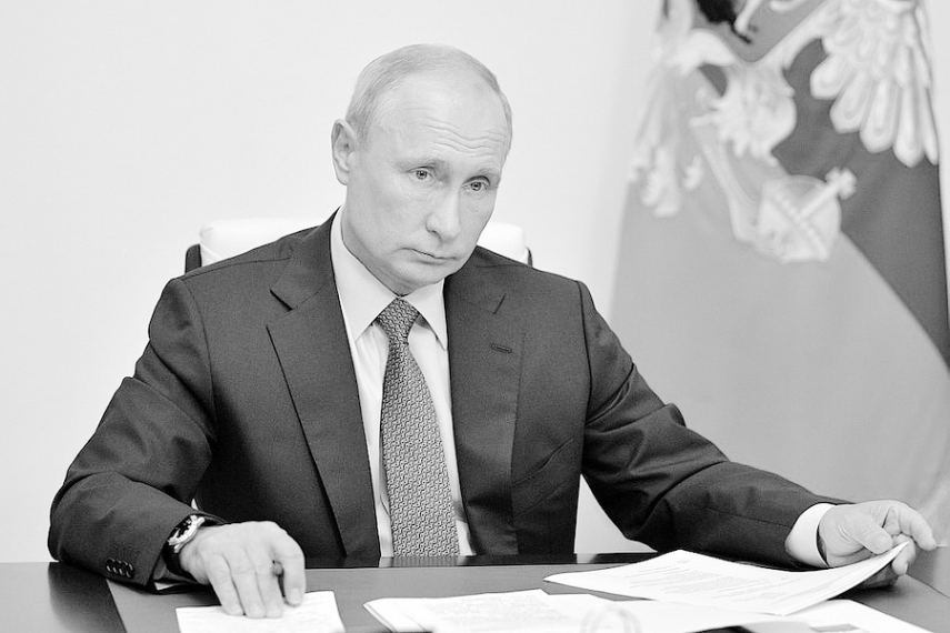 Vladimir Putin sheds the last pretenses of legitimacy to extend his rule