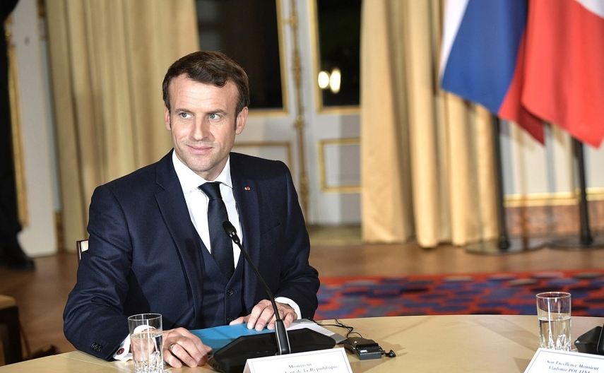French President Macron to come to Lithuania this month – sources