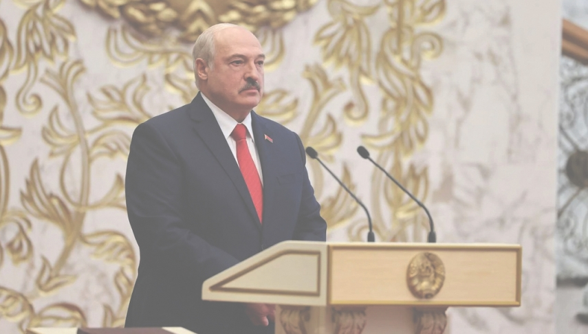 Self-appointed Belarusian President Alexander Lukashenko condemned but clings to power