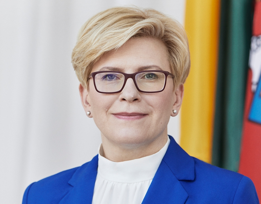 Lithuanian president wishes Simonyte success in taking on PM's role