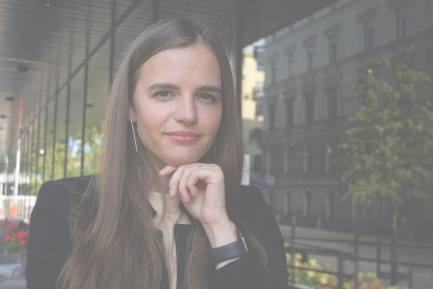 Ieva Feldman-Walmsley: living to the fullest and changing Latvia for better
