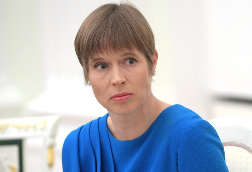Estonian president releases interior minister from office