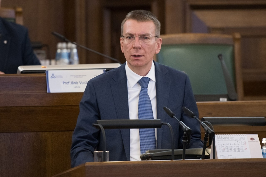 Rinkevics voices Latvia's concerns about inadequate investigation of human rights violations in Belarus