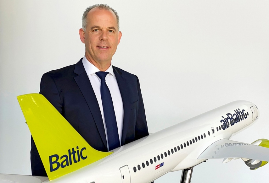 "airBaltic CEO Martin Gauss: ""Even in the crisis, airBaltic is already a success story"""
