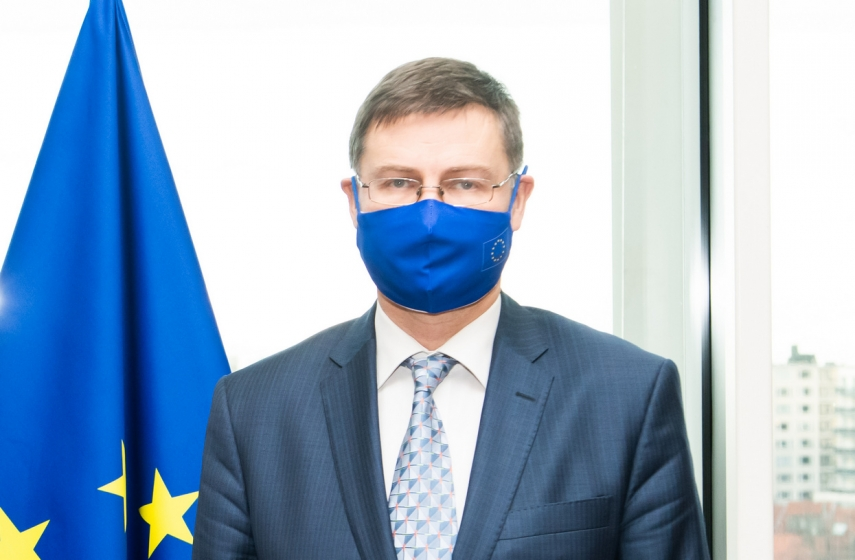 Latvia still has much to do in preparing recovery plan for submission to European Commission - Dombrovskis