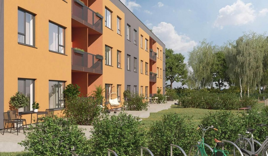 Bigbank Latvija invests 1.2million euros in a new apartment project in Mežaparks