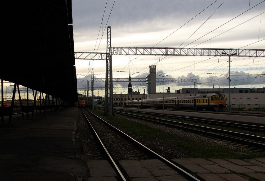 Linkaits calls on residents to be tolerant of construction works associated with Rail Baltica at Riga Central Station