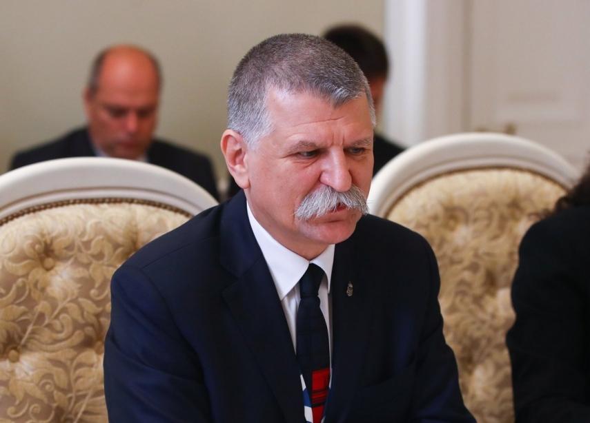 Estonian, Hungarian parlt speakers discuss strengthening of bilateral relations