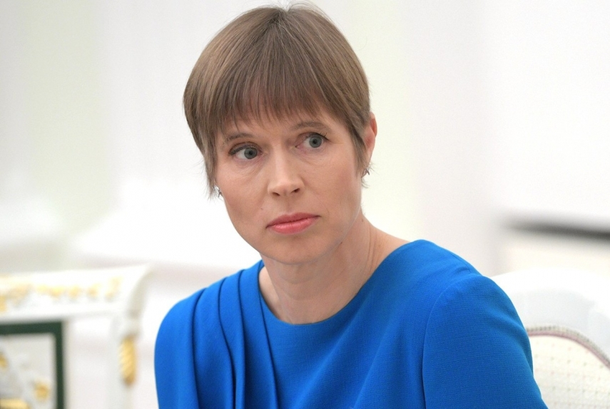 Estonia 200 wants Kersti Kaljulaid to continue as president