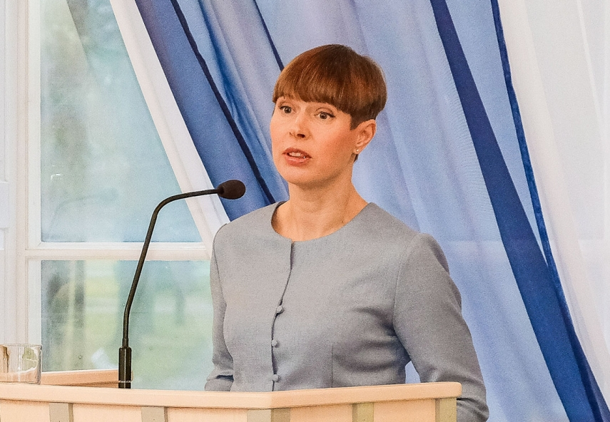 Estonian president: Belarusian people paying unimaginable price for freedom