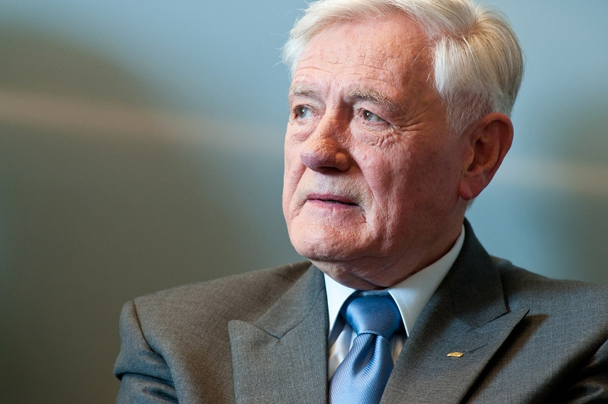 Lithuania's ex-president Adamkus dismisses Belarus' suspicions as 'nonsense'