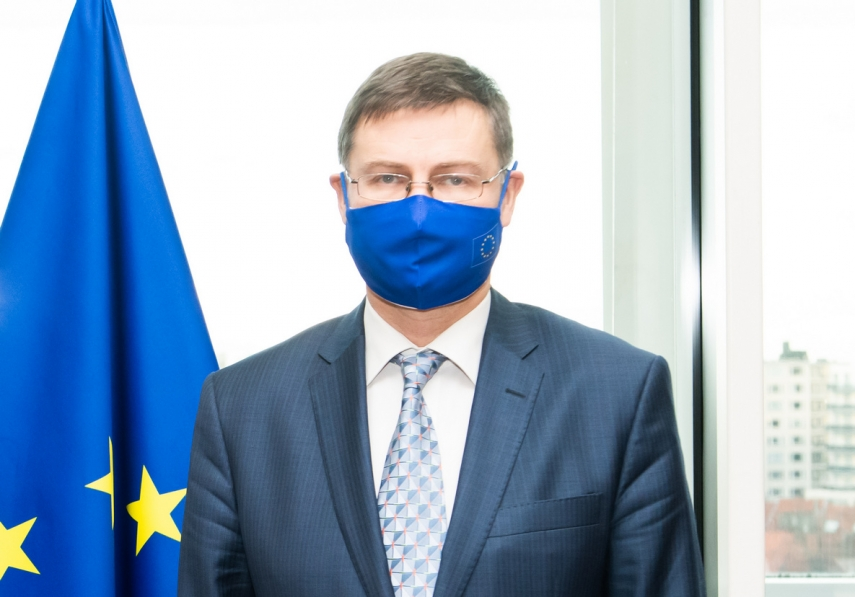 Latvia's national recovery plan looks fairly good in comparison with other countries' plans - Dombrovskis