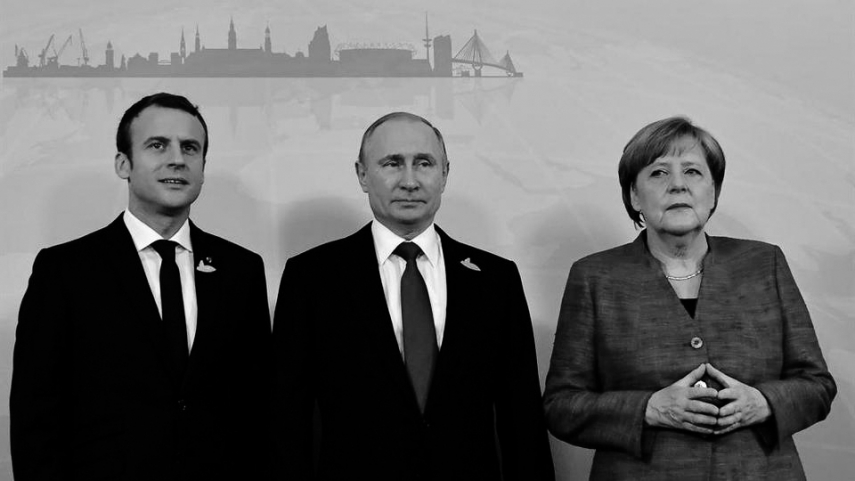 EU leaders reject Germany and France's proposal to resume summit meetings with Putin