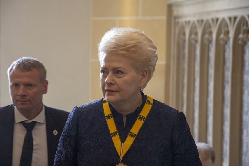 Lithuania must make effort for Grybauskaite to become next NATO chief – presidential aide