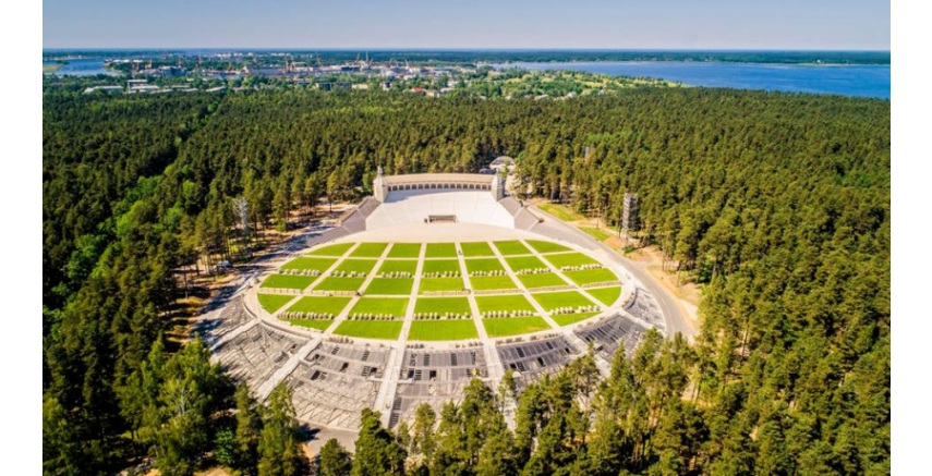2021 Latvian Architecture Award goes to Mezaparks Song Festival Stage reconstruction project