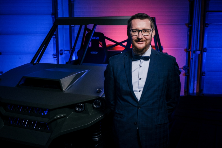 Inspired by military missions in Afghanistan and Iraq, Lithuanians are designing a smart driverless buggy