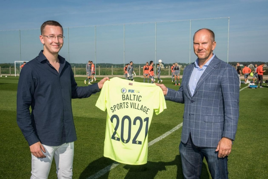 FC Riga has opened a new and modern sports base