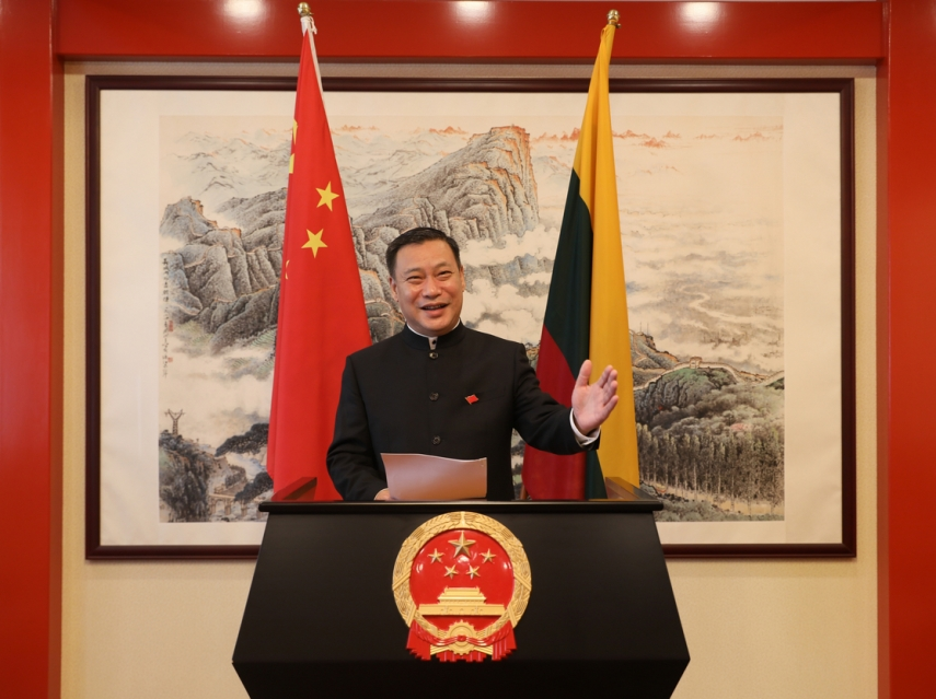 Photo: H.E. Mr. Shen Zhifei, Ambassador Extraordinary and Plenipotentiary of the People's Republic of China to Lithuania