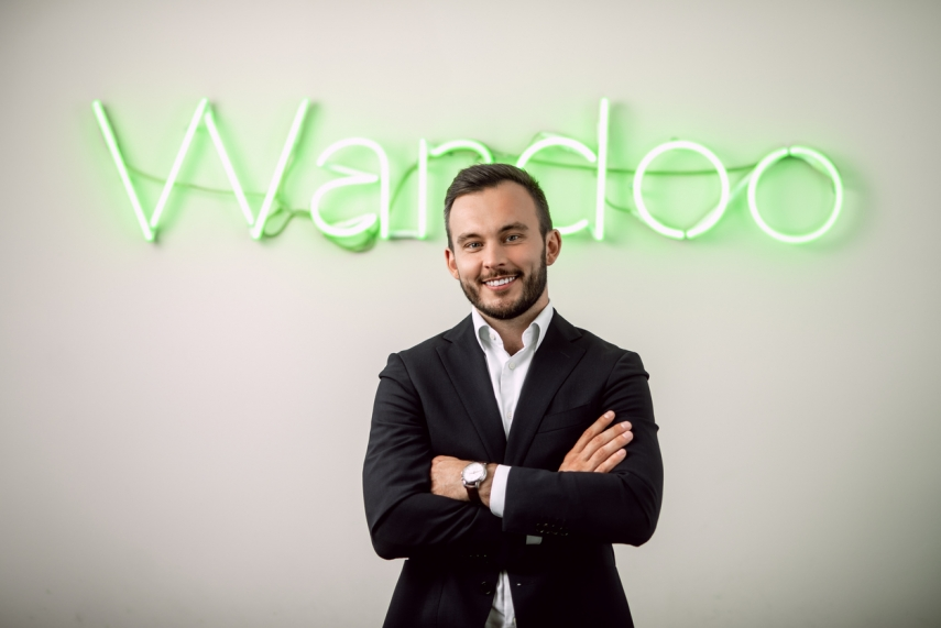 Photo: Raivo Tambors is CEO of Wandoo Finance