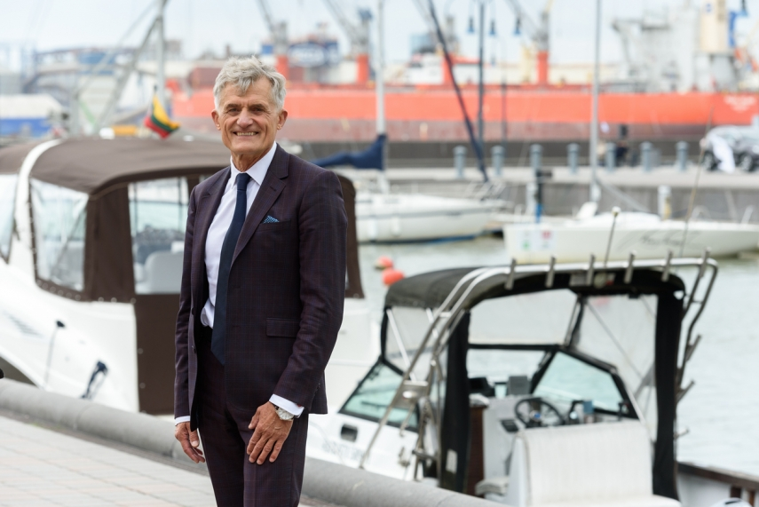 Photo: Algis Latakas is CEO of the Klaipeda State Seaport Authority that manages the Port of Klaipeda
