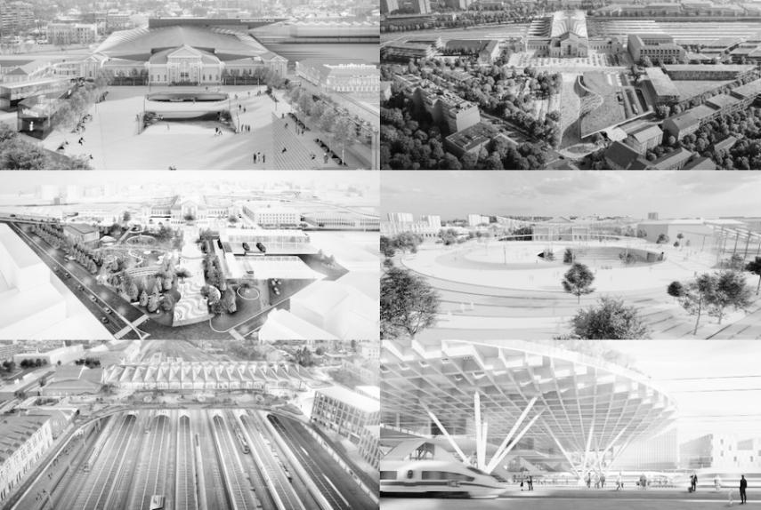 UK's Zaha Hadid Architects present best Vilnius Connect idea