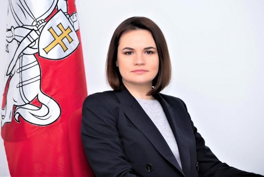 Photo: Belarusian opposition leader Svetlana Tikhanovskaya is ratcheting up international pressure on authoritarian Alexander Lukashenko's regime