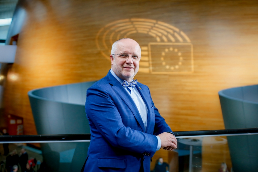 """MEP Juozas Olekas: """"We are living in a tightly-knit world, so let's face it properly!"""""""