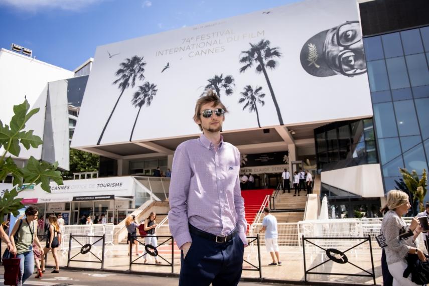 Tallinn-based startup founder Otto K. Schwarz conquers Cannes